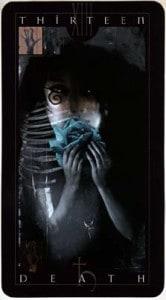 Death Card - Vertigo Tarot