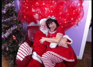 Santa with PRH Lala